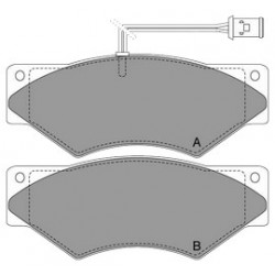 GBS 11.100 DEUTZ MAGIRUS ACCESSORIES BRAKE PAD