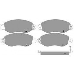 GBS 11.115 FORD BRAKE PAD