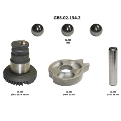 GBS.02.134.2 OPERATING SHAFT KIT