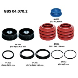 GBS 04.070.2 RUBBER BELLOW & CAP KIT